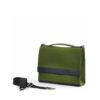 Die Handtasche kleine Sophie in der Farbkombination Grün-Schwarz