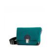 Handtasche kleine Lilly in der Farbkombination Petrol-Schwarz