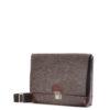 Handtasche Lilly aus Filz in der Farbkombination Nuss-Braun