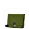 Handtasche Lilly aus Filz in der Farbkombination Grün-Schwarz