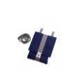 Handtasche Saskia in Blau-Grau