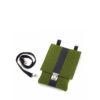 Handtasche Saskia aus Filz in der Farbkombination Grün-Schwarz