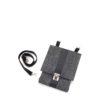 Handtasche Saskia aus Filz in der Farbkombination Granit-Schwarz