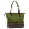 Handtasche Thea in Grün-Braun