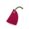 Schlüssel Etui Mützchen in der Farbe Kirschrot