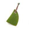 Das Schlüssel-Etui Mützchen in der Farbe Grün