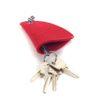 Schlüssel Etui Mützchen mit herausgezogenem Schlüssel