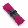 Stifte Etui Jette aus Filz und Leder mit der Farbkombination Fuchsia-Schwarz